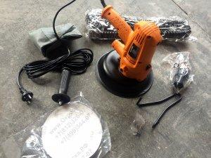 Мобільна (ручна) електрична шліфувальна машина для стін і стель, купити недорого