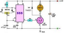 Схема ШІМ - регулятора на таймері 555